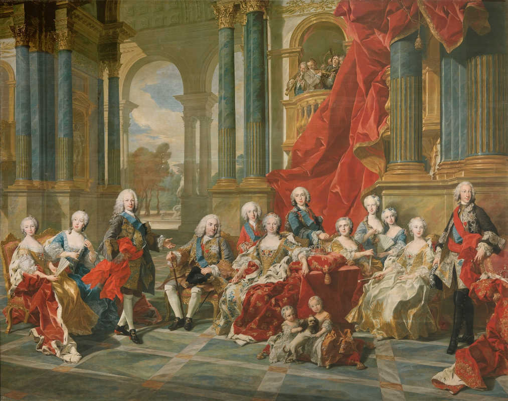 Familia real de Felipe V